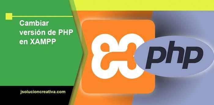 Actualizar la versión de PHP en Xampp