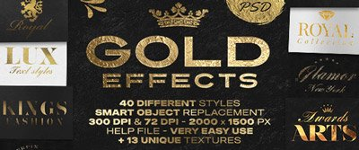 Gold-Text-Effects-Bundle-envato