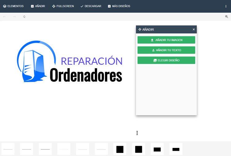 web para hacer un logo gratis con logosea