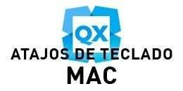 Atajos de teclado de QuarkXPress para mac