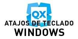 Atajos de teclado de QuarkXPress para Windows