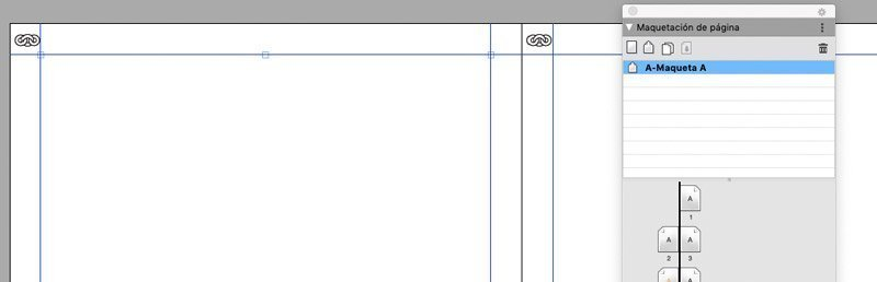 Encabezados y pies de página automáticos en la maqueta