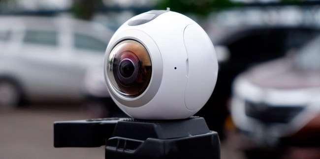 Cámara 360 para capturar imágenes en 360 grados