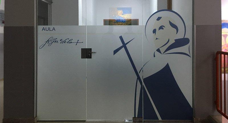 Diseño de vinilo de san juan de la cruz