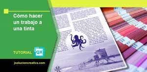 documento a una tinta o a un color en QuarkXPress