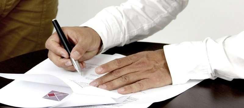 Acuerdo firmado de las partes interesadas
