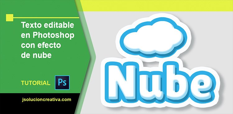 Texto editable tipo nube