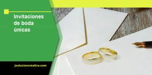 Dónde hacer invitaciones de boda