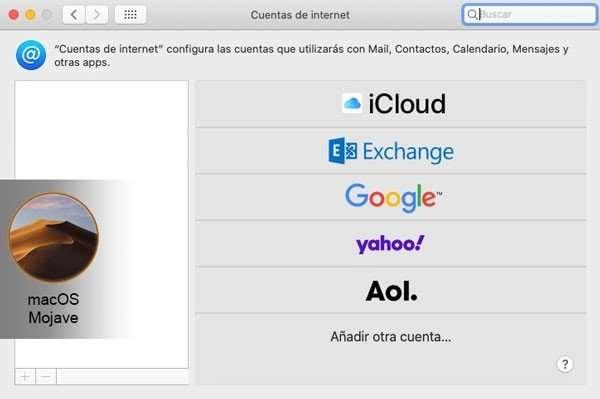 no exixte la opción compartir imágenes en facebook desde Mac en Mojave y posteriores