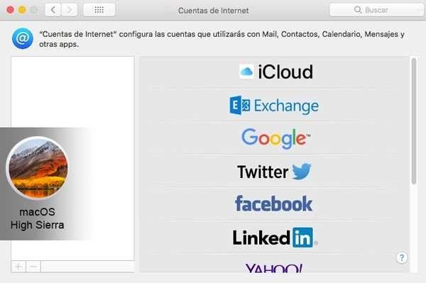 configurar cuenta para compartir imágenes en facebook desde Mac bloqueado para Facebook