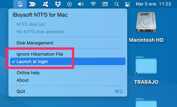 Iniciar discos NTFS al arrancar el ordenador