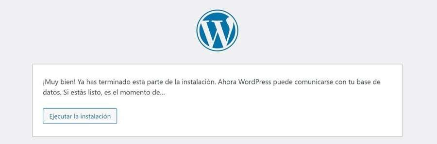 Conexión establecida de WordPress con la base de datos