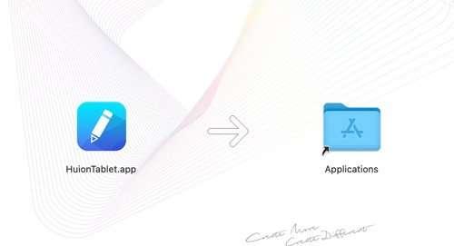 Instalación del controlador HUION en Mac