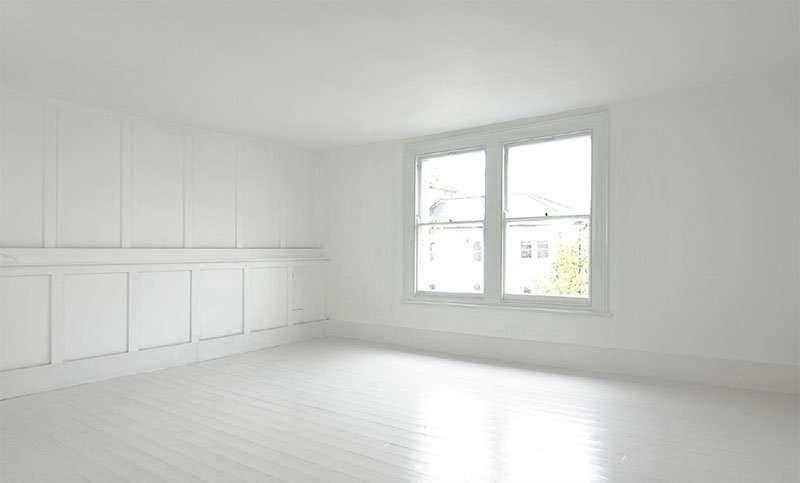 Habitación sin decoración