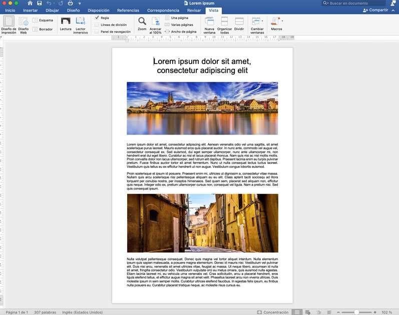 Convertir documendo doc en archivo PDF